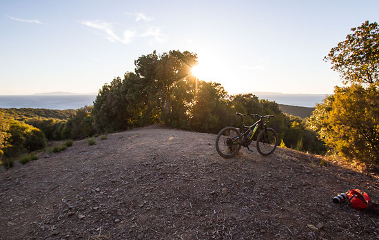 Sunset Over Punta Ala