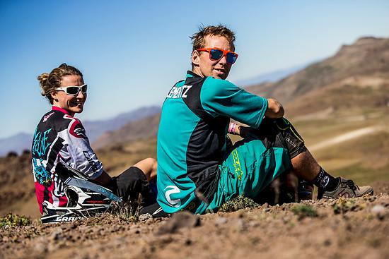 Jerome Clementz mit Freundin Pauline Diffenthaler in Chile | Foto: © Sven Martin