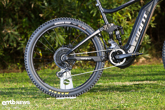 Giant SyncDrive Motor mit Sram EX1 Antrieb