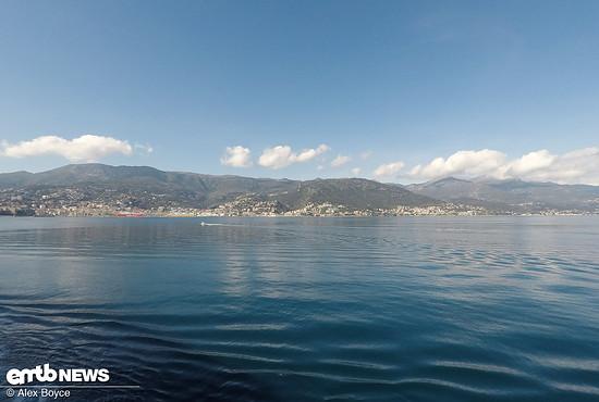 Arriving In Corsica