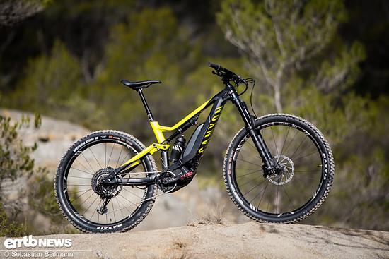 Das Canyon Spectral:ON ist ein reinrassiges E-Trailbike mit 150 mm Federweg