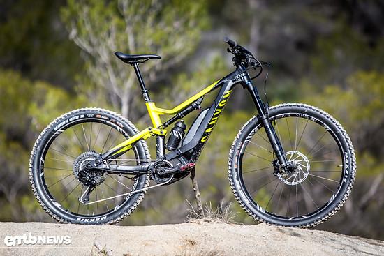 Das Canyon Spectral:ON ist ein reinrassiges E-Trailbike mit 150 mm Federweg.