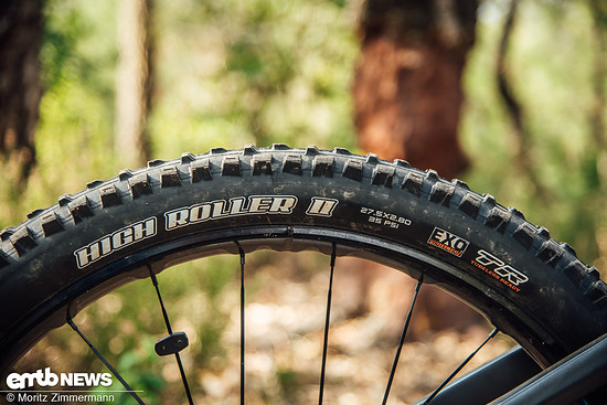 Maxxis High Roller II in der dicken Plusversion