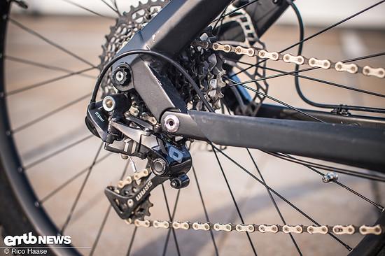11 Gänge am E-Bike