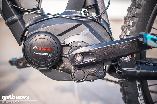 Der Bosch Performance CX liefert genug Power für dieses E-Freeridebike