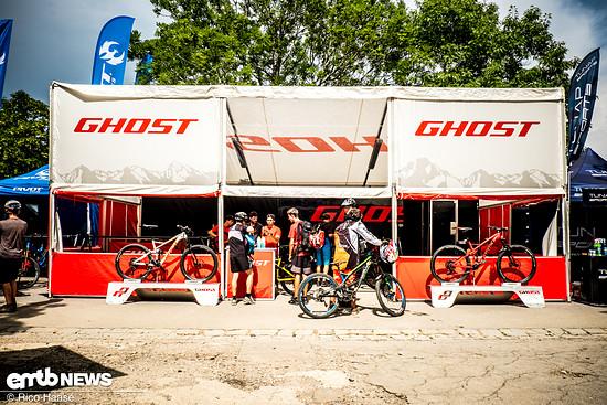 beim Rock the Hill können E-Bike diverser Herstelle ausgeliehen und getestet werden