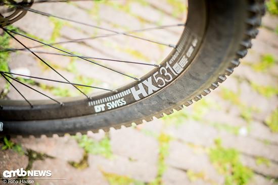 DT Swiss HX531-Felgen sind dafür bekannt, sehr stabil zu sein