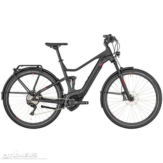 Das Bergamont E-Horizon FS Elite ist vollgefedertes E-Trekkingrad
