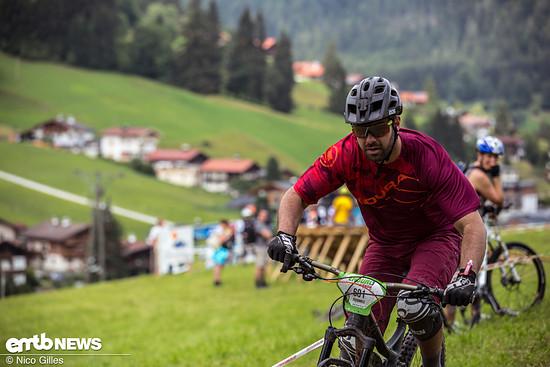 Auf der E-Bike Stage ging es ordentlich den Berg hinauf