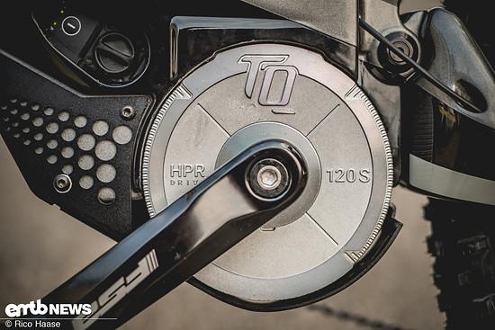 Der TQ HPR wurde schön im M1 Spitzing Evolution integriert