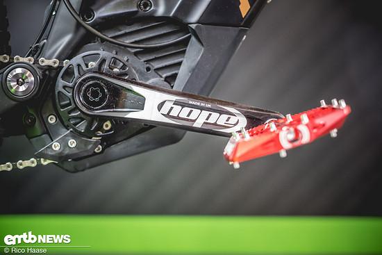 Hope E-Bike Kurbel  DSF6308