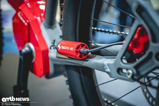 Das serienreife Sachs ABS ist kompakt
