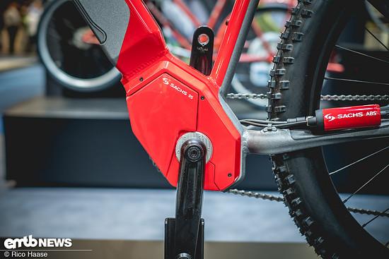 Der neu konstruierte Sachs RS Motor leistet bis zu 110 Nm