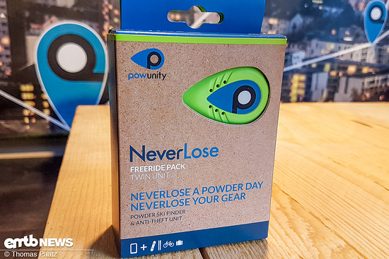 Hiermit hat alles angefangen - das Bluetooth-basierte NeverLose System für den Nahbereich