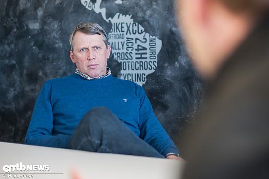 Ullrich Hanus, CEO von baboons