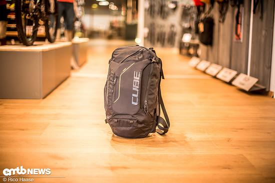 Cube Edge Hybrid, ein E-Bike-Rucksack mit Akkufach und ergonomischem Tragesystem