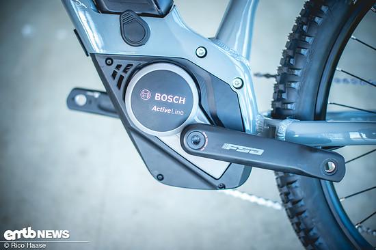 Der Bosch Active unterstützt bis zu einer Geschwindigkeit von 20 km/h