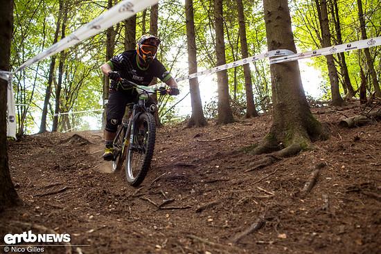 Der Waldboden in Wipperfürth war ...