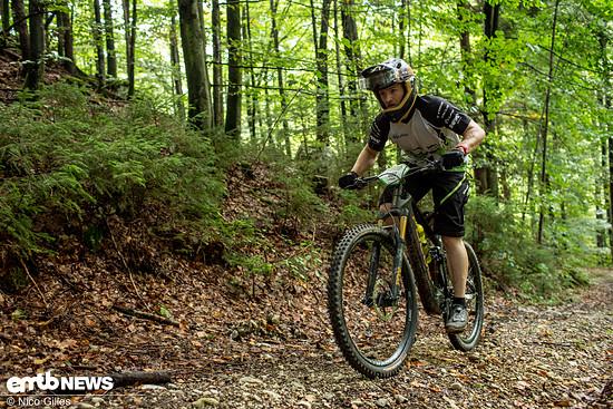 Uphill mit dem E-Bike
