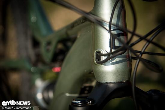 Die Zugeingänge sind optisch schön integriert und sorgen ...