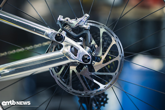 ... silberne SRAM Guide RC