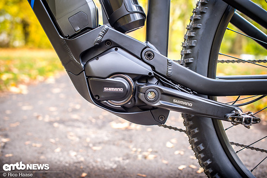 Im Canyon Neuron:ON 7.0 werkelt ein Shimano Steps E8000-Motor
