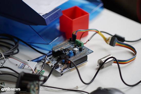 Hier werden Software und Elektronik-Hardware entwickelt
