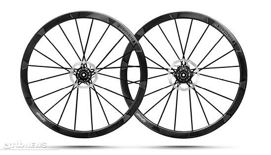 Die Carbon-Laufräder von Lightweight sind steif und technisch auf dem aktuellsten Stand