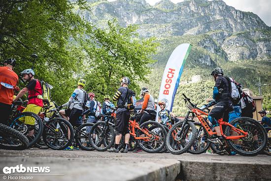 Auftakt der Bosch eMTB-Challenge wird auch 2019 das Rennen in Riva del Garda sein