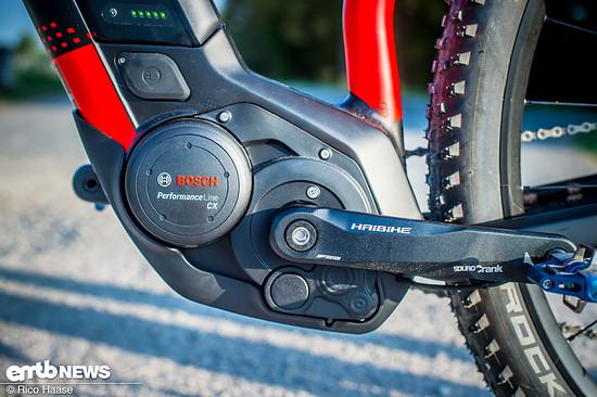 Der Bosch Performance CX-Motor schiebt bis 25 km/h ordentlich mit