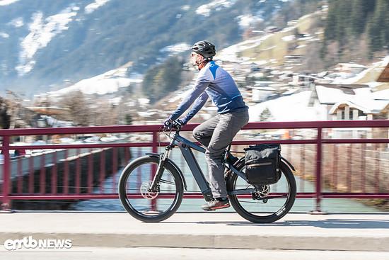 Mit dem Nox Hybrid XC Tour die Alpen erkunden?
