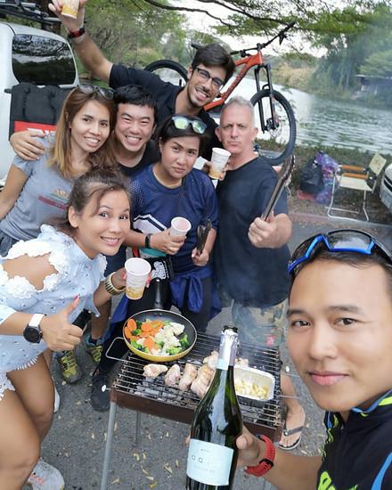 grillen in Bangkok mit Santa Cruz Thailand