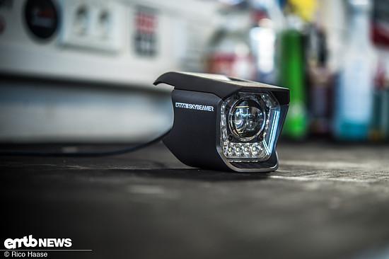 Mit dem 5000 Lumen hellen Skybeamer setzt Haibike neue Massstäbe bei Sicherheit, Sichtbarkeit und Integration.