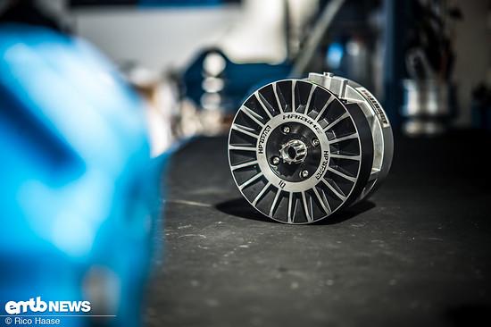 Gemeinsam mit TQ Systems modellierte Haibike die Charakteristik der Kraftentfaltung des 120 Nm starken Motors