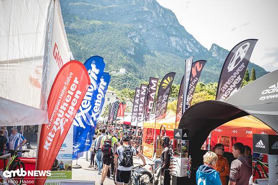 Zentrum des Festivals ist die Expo-Area mit über 170 Ausstellern und 300 Marken