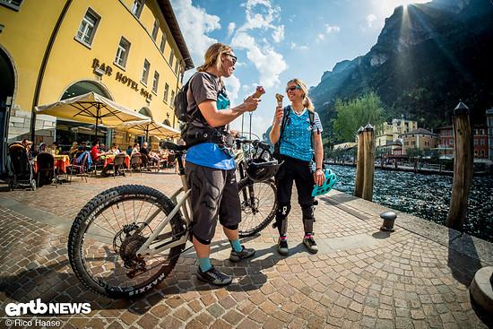 Bike Festival am Lago heißt: Trails, Sonne, Seeluft, Eis, Pizza und dolce vita