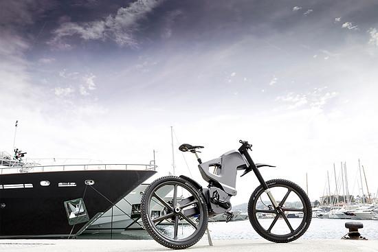 Sind das die E-Bikes der Zukunft? Trefectra will mit seinen Modellen öffentliche Einrichtungen wie das Militär oder die Polizei bedienen.