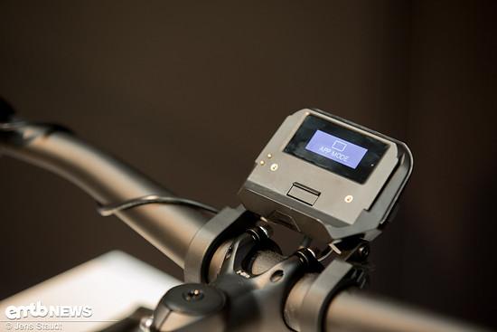"""Auch mit dem """"Not-Display"""" kann das E-Bike gut genutzt werden"""