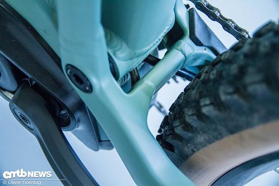 Nette Details wie die saubere interne Verlegung der Leitungen überzeugen uns.