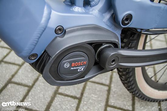 Hier schlummern die gut dosierten 75 Nm des neuen Bosch Aggregats.