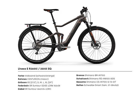 Lhasa E R2600i 2500i EQ