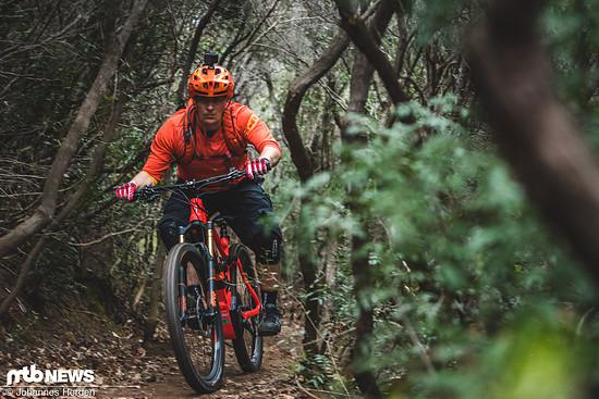 Ein richtig schnelles E-Trailbike für sportlich ambitionierte Fahrer!