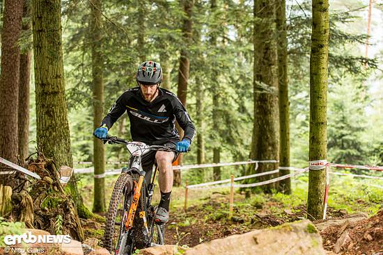 Marc Oppermann blies im Uphill zur Attacke