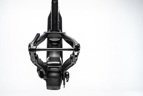 Bei der Nabenbreite wechselt Cannondale zum Boost-Standard mit 148 mm Einbaubreite und 12 mm Steckachse