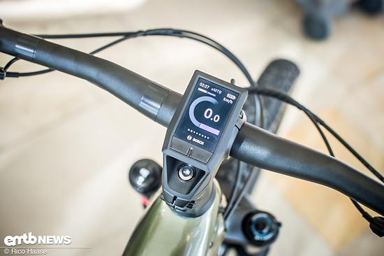 Am Cannondale Habit NEO 2 ist das smarte Bosch Kiox-Display verbaut