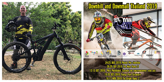 Downhill and Downmall Thailand 2019