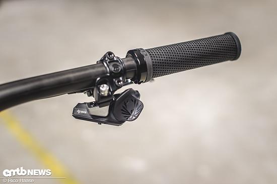SRAM AXS Eagle schaltet schnell und präzise.