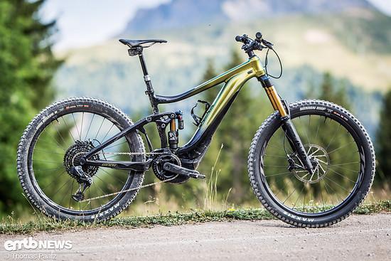 Giant Reign E+ 0 Pro – Federweg: 170mm /160mm | Gewicht: 24,16 kg | Preis: 7.499 € (UVP)