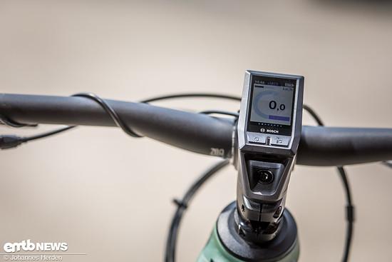 Focus verbaut hier das smarte Bosch Kiox-Display