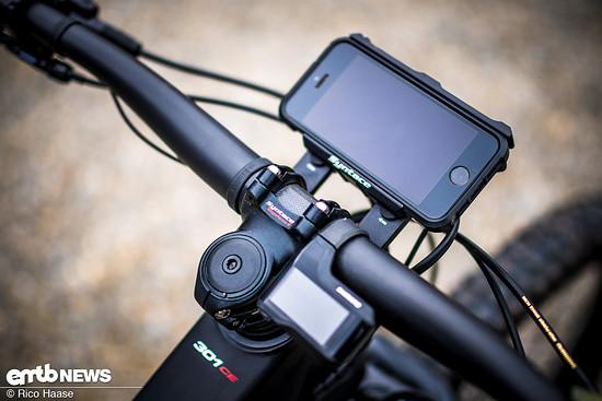 Liteville hat auch an die Montage für Smartphones gedacht